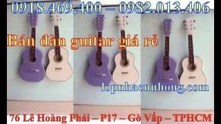 Đàn guitar dành cho trẻ em có thiết kế đặc thù nhỏ gọn phù hợp với người chơi