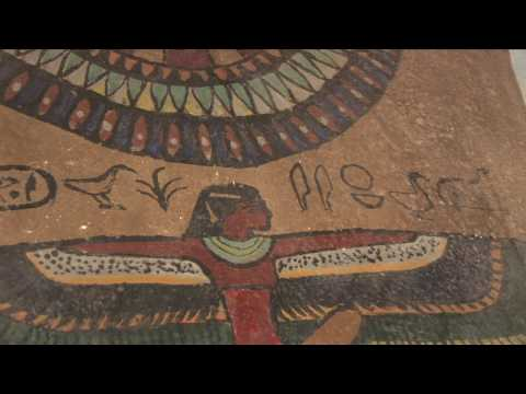 Egyptians and the Buddha - underground carvings