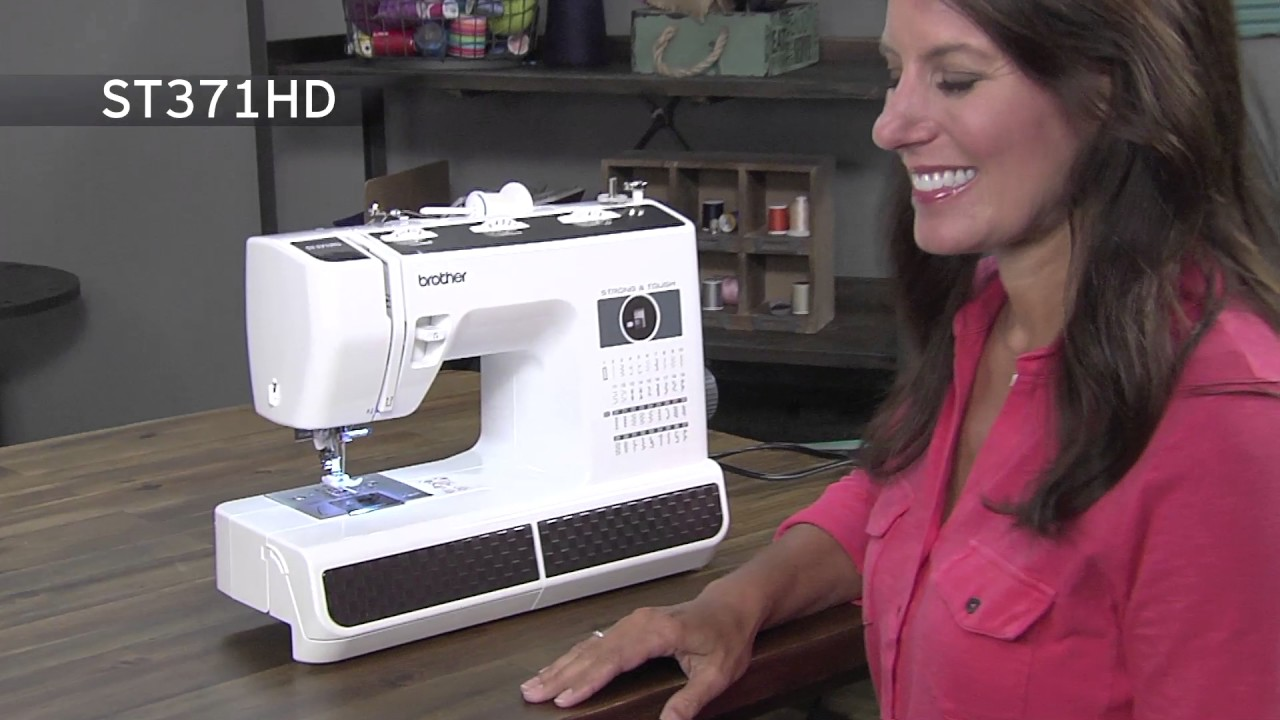 Brother St371Hd Sewing Machine Overview - Youtube-6300