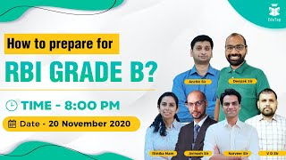 How to ace RBI Grade B ? Guidance by EduTap experts