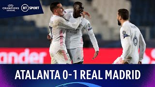 Atalanta v Real Madrid (0-1) | Mendy stunner sinks 10-man Italians | Champions League Highlights