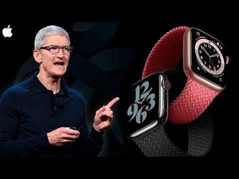 Итоги Apple Event 2020 за 3 минуты — Apple Watch Series 6, Watch SE и iPad Air 4 ПРЕДСТАВИЛИ