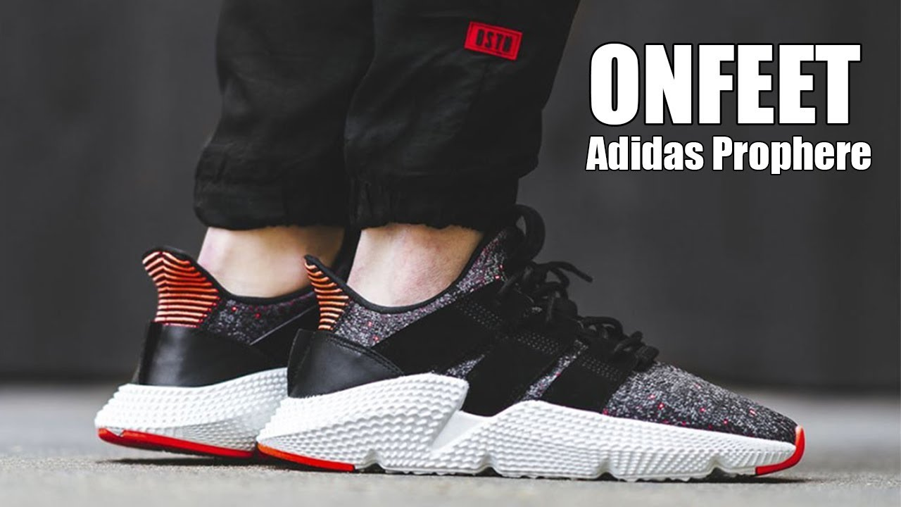 dar a entender vestíbulo Párrafo  Adidas Prophere (CQ3022) Onfeet Review | sneakers.by - YouTube
