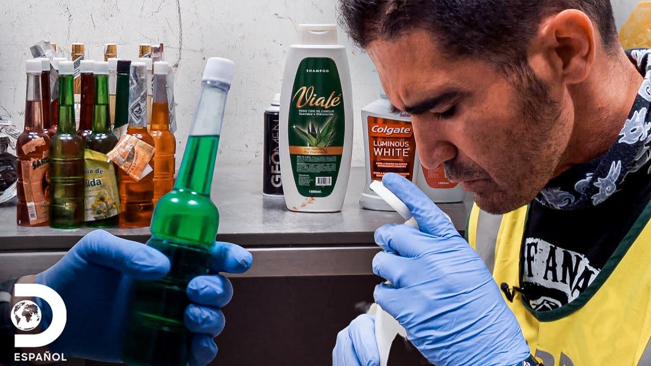 Le incautan perfumes con sustancias ilícitas | Control de Fronteras España | Discovery En Español