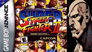 Super Street Fighter II - Turbo Revival - Sagat (GBA)