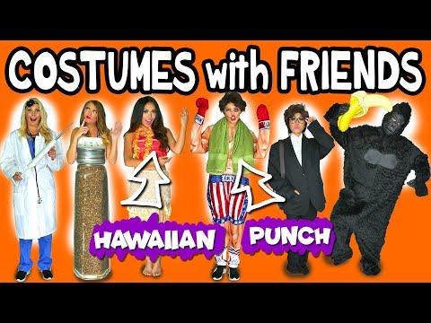 DIY Halloween Costumes for Friends. Totally TV