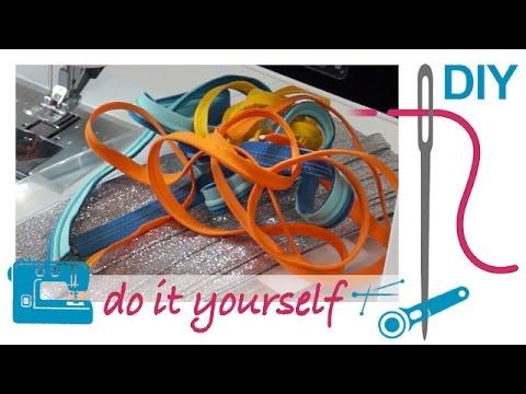 Nählexikon von A–Z – Paspelband – Nähen lernen mit Zierstoff
