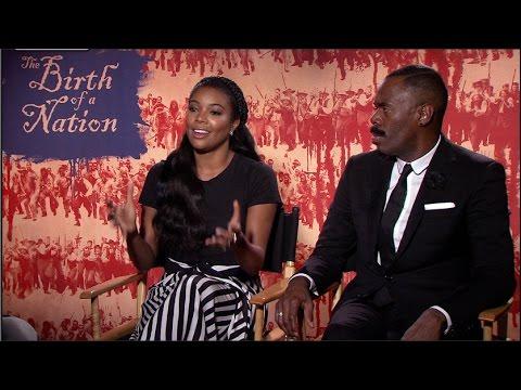 GABRIELLE UNION interview - THE BIRTH OF A NATION - Colman Domingo