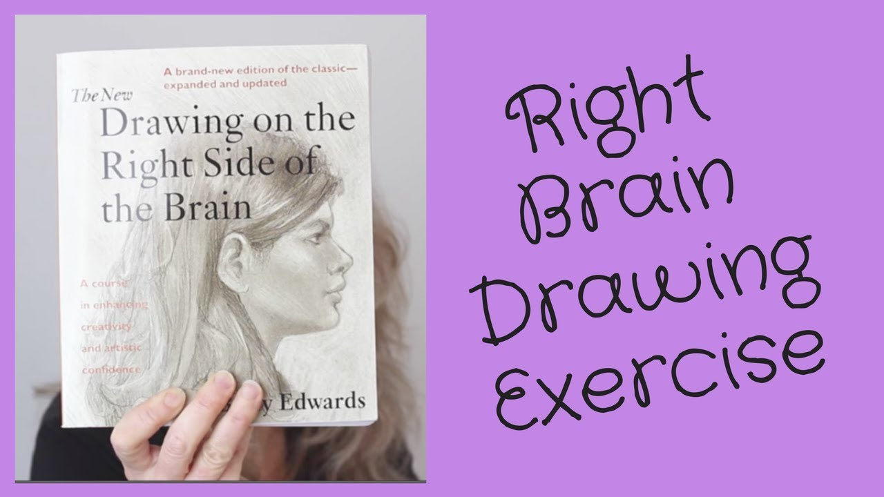 Right Brain Creative Drawing Exercise
