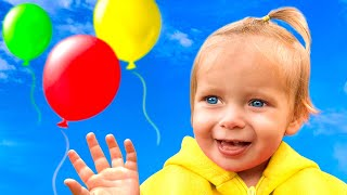 Balloon song + More Songs for Kids by Maya and Mary