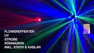 Showtec Dominator 3-in-1, American DJ REVO 3, Showtec UV LED BAR