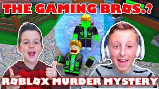 The Gaming Bros? Playing Roblox Murder Mystery 2 with GamerBoy JJM