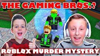 Les Gaming Bros ? Jouer Roblox Murder Mystery 2 avec GamerBoy JJM