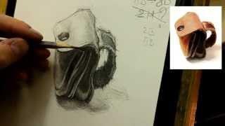 Обучение рисунку. Введение. 20 серия: продолжение в тоне