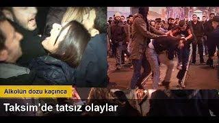 Repeat youtube video Yılbaşında tatsız olaylar yine istanbul yine taciz