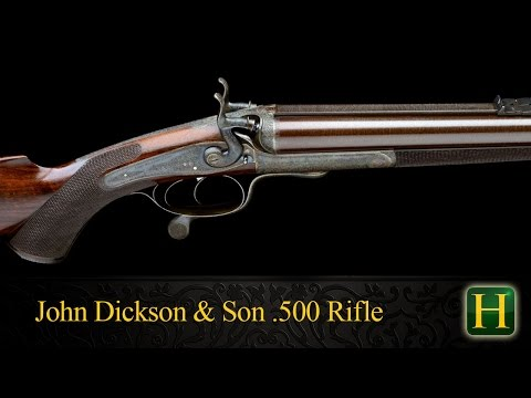 John Dickson & Son .500 Black Powder Double Rifle | Holts' Auctioneers | Lot 967 | 11th Dec 2014