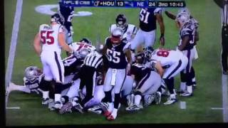 Brandon spikes pop lock first down