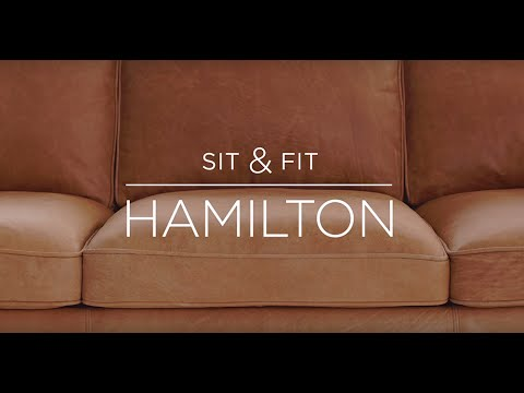 Sit U0026 Fit: Hamilton Leather Sofa