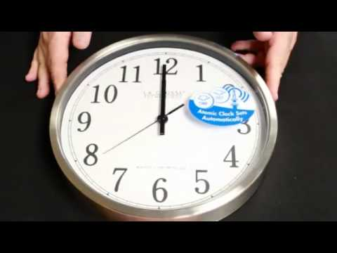 WT-3126 Atomic Wall Clock