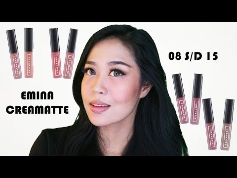 lipstik-emina-creamatte-[lipstick-swatches]-+-giveaway