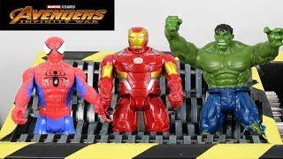 experiment Shredding Marvel Studios Avengers Infinity War | The Crusher