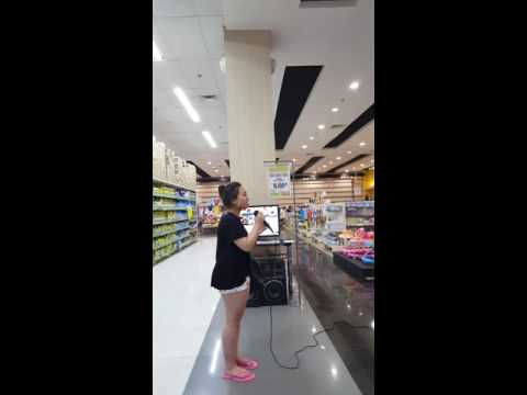 Lindsey Tries Karaoke Puregold Harbor Point Olongapo