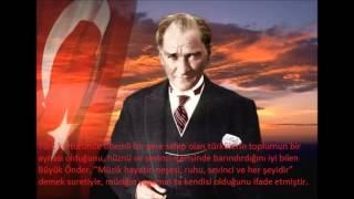 Atatürk ve müzik konulu sunum