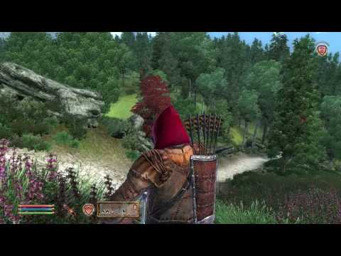 Elder Scrolls IV: Oblivion Gameplay.