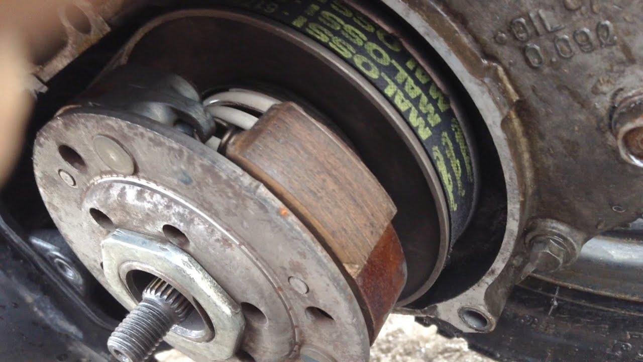 Сцепление с колоколом Malossi на Honda Dio