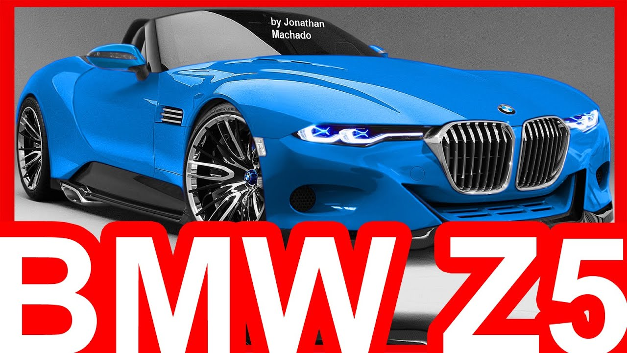 Photoshop New 2018 Bmw Z5 G29 Hybrid Roadster Toyota Ft 1 Concept Bmw Youtube