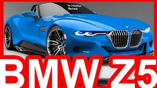 PHOTOSHOP New 2018 BMW Z5 G29 Hybrid Roadster @ Toyota FT-1 Concept #BMW