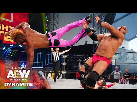 Who won, Private Party's Flips vs FTR's Fists? | AEW Saturday Night Dynamite 8/22/20