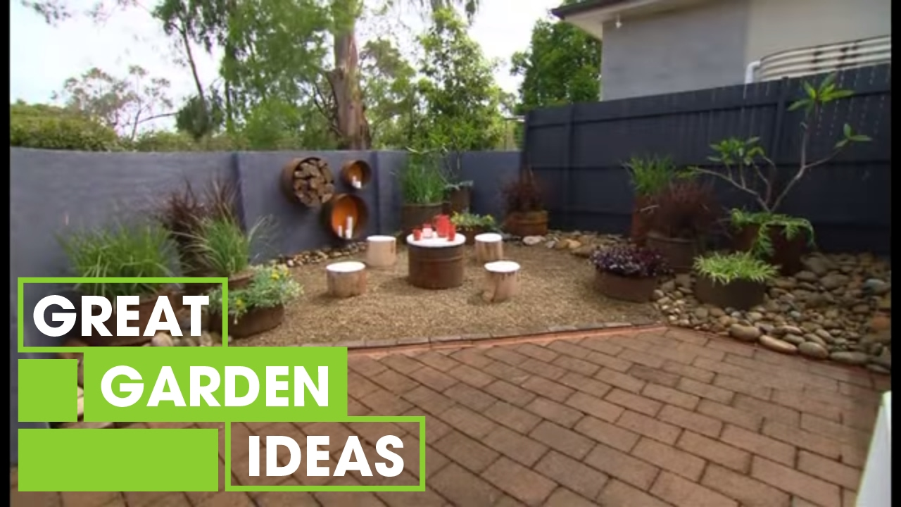 Budget garden makeover gardening great home ideas for Great garden ideas