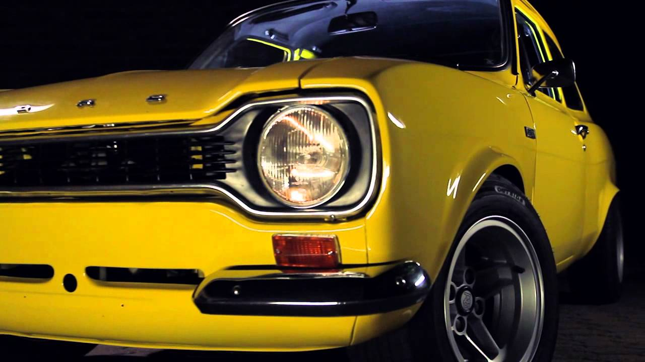 FORD ESCORT MK1 RS2000 - touches the heart and soul - YouTube