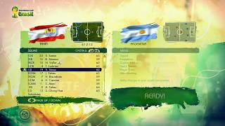 Video 2014 FIFA World Cup Brasil Gameplay - Tahiti Squads Player Ratings download MP3, 3GP, MP4, WEBM, AVI, FLV Desember 2017
