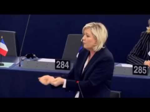 BREXIT Marine Le Pen monte au créneau 05 07 16