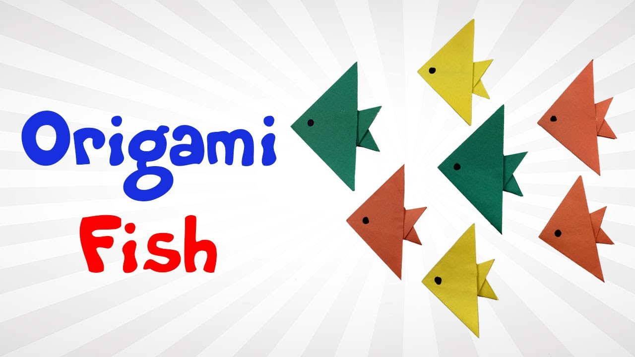 DIY Origami Fish Easy