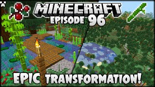 Terrain Transformations! | Minecraft Survival Ep.96