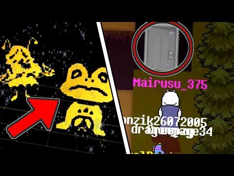 "UNDERTALE'S SURFACE MYSTERIES | ""Don't Forget"" Undertale Online Multiplayer fangame #6"