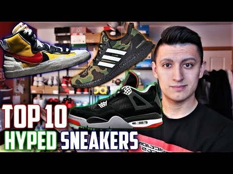 Top 10 Most Anticipated Sneaker Releases 2019! (Spring)