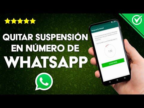 Cómo Recuperar y Quitar la Suspensión de un Número o Cuenta en WhatsApp