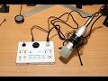 TASCAM US-42 사용 방법 음장 효과 방송 방법