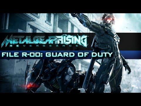 Metal Gear Rising: Revengeance - Walkthrough File R-00: Guard of Duty [Xbox 360 / PS3]
