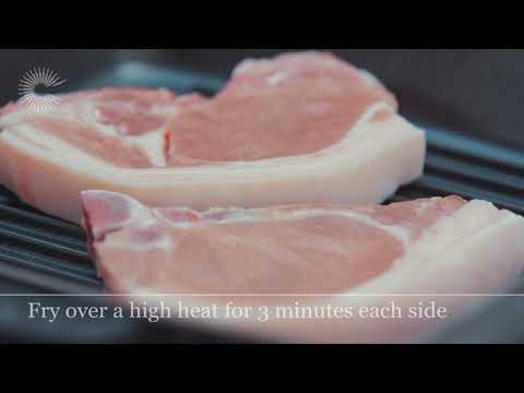 STAUB - How To Cook Pork Chops In A STAUB Grill Pan