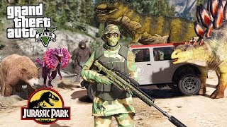 COMO IR AO MUNDO DO JURASSIC PARK NO GTA 5?!?! (Incrivel)