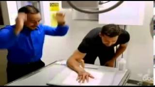 David Blaine Real or Magic Stumps Doctor with Ice Pick through Hand Through Trick