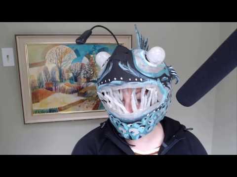 Angler Fish DIY Costume Tutorial