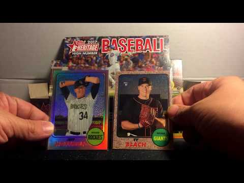 2017 Topps Heritage High Number Hobby Unboxing - YANKEES GAME-USED RELIC! Part 2!