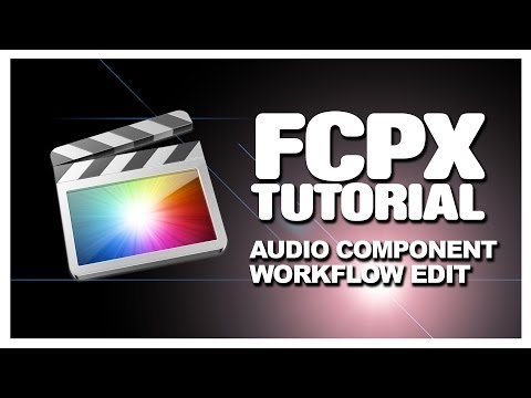 #FCPX 10.0.6: Audio Component Editing Workflow