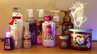 Bath & Body Works Winter Holiday 2014 Haul & Review Thumbnail